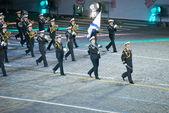 Central Band of the Naval fleet behalf of the NA Rimsky-Korsakov — Stock Photo