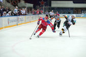 Hockey match CSKA - Severstal — Stock Photo
