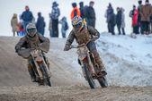 All-Russian motocross named VP Chkalov — Stock Photo