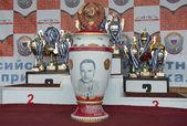 Prizes and awards All-Russian  motocross named VP Chkalov — Stock Photo
