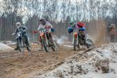All-Russian motocross named VP Chkalov — Stock Photo