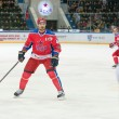 Постер, плакат: Eugene Artyuhin 44 in action on hockey game