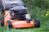 Lawnmower Man — Stock Photo