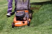 Lawnmower Man — Stock Photo