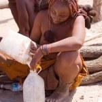 Himba man and woman — Stock Photo #59928025