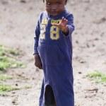Kenyan masai kid — Stock Photo #61754261
