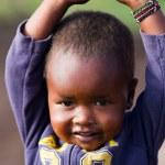 Kenyan masai kid — Stock Photo #61754293