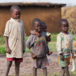 Kenyan masai kids — Stock Photo #61754507