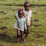 Kenyan masai kids — Stock Photo #61754719