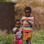 Kenyan masai kids — Stock Photo #61755173