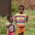 Kenyan masai kids — Stock Photo #61755199