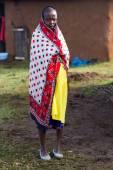 Kenyan maasai woman — Stock Photo