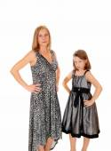 Mother and daughter having problem. — Stock Photo