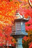 Autumn Colors in Eikando Temple, Kyoto, Kansai, Japan — Stock Photo
