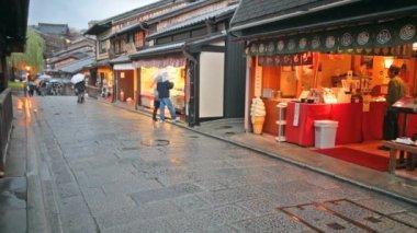 Kiyomizu-dera Temple Gate in Kyoto, Japan — Stock Video