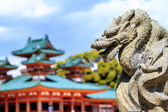 The Shrine is ranked as a Beppyou Jinja — Stock Photo