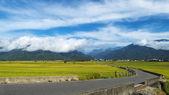 La belleza de las tierras de cultivo en taitung de taiwan — Foto de Stock