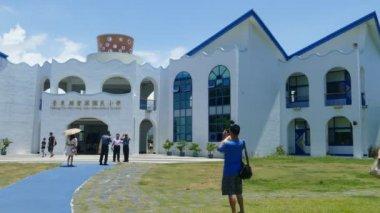 The most beautiful Taitung Conunty Fong Yuan Elementary School — Stock Video
