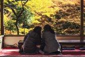 Fall season of Jingo-ji, kyoto, Japan — Stock Photo