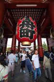 Templo de Senso-ji, Asakusa, Tóquio, Japão — Fotografia Stock