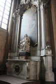 Interior of Church of Our Lady, Bruges — Fotografia Stock
