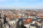 View of Ghent from Belfry — Stock Photo