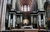 Interior of St Bavo's Cathedral, Ghent — Stock Photo