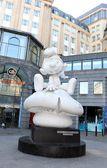 Sculpture in Brussels, Belgium — Foto Stock