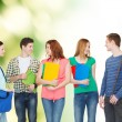 Group of smiling students standing — Stock Photo #53994331