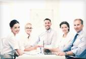 Zakelijke team met vergadering in kantoor — Stockfoto