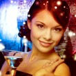 Woman with cocktail — Stock Photo #54503211