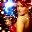 Woman with cocktail — Stock Photo #54503453