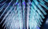 Blue futuristic desktop background — Foto de Stock