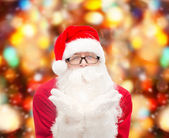 Man in costume of santa claus — Photo