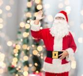 Man in costume of santa claus — Stock Photo