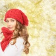 Young woman in winter clothes — Stock Photo #59666263
