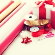 Close up of christmas presents — Stock Photo #60058541