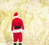 Man in costume of santa claus — Foto de Stock