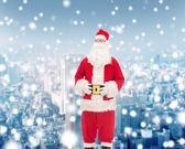 サンタ クロースの衣装を着て男 — ストック写真