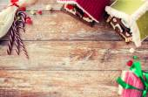 Closeup of beautiful gingerbread houses at home — Foto Stock