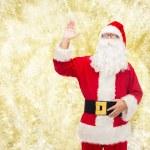 Man in costume of santa claus — Stock Photo #60482853