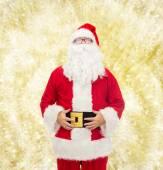 Man in costume of santa claus — Foto de Stock