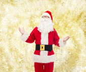 Man in costume of santa claus — 图库照片