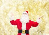 Mann im Kostüm des Weihnachtsmannes — Stockfoto