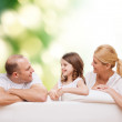 Happy family at home — Stock Photo #60680865