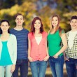 Group of smiling students standing — Stock Photo #66819261