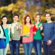 Group of smiling students standing — Stock Photo #66819277