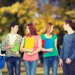 Group of smiling students standing — Stock Photo #66819319