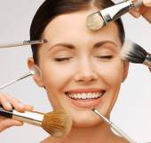 Professional make-up — Stock Photo