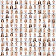 Collage with many business people portraits — Stock Photo #73376353